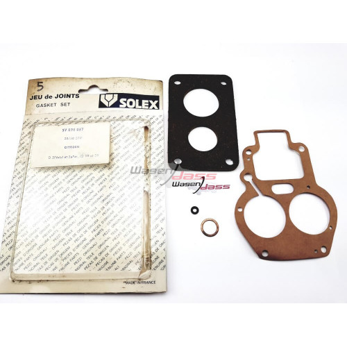 Pochette de joint solex pour carburateur 28/36 SFIF sur Citroen D/ID19 ET 20