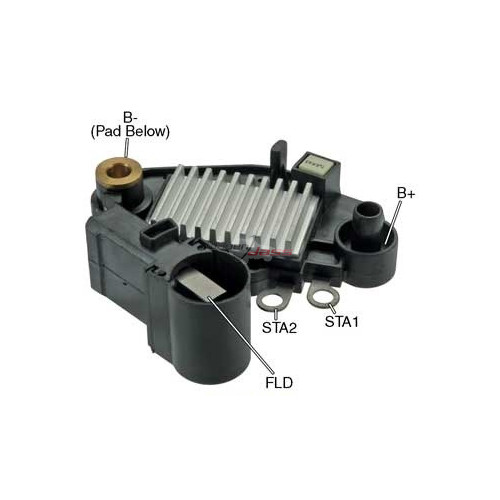 Regulator for alternator VALEO A11V188 / A11VI110 / A11VI111