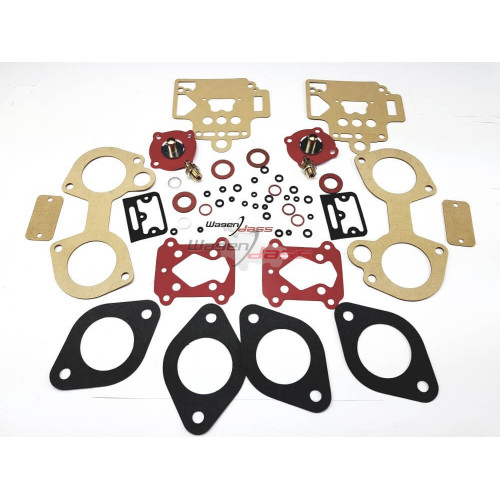 Service Kit for carburettor Dellorto 2x40 DHLA / DHLA L