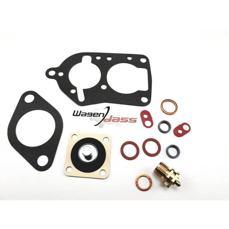 Pochette de joint pour carburateur solex 34BICSA sur Peugeot 403 / 404 ET 504