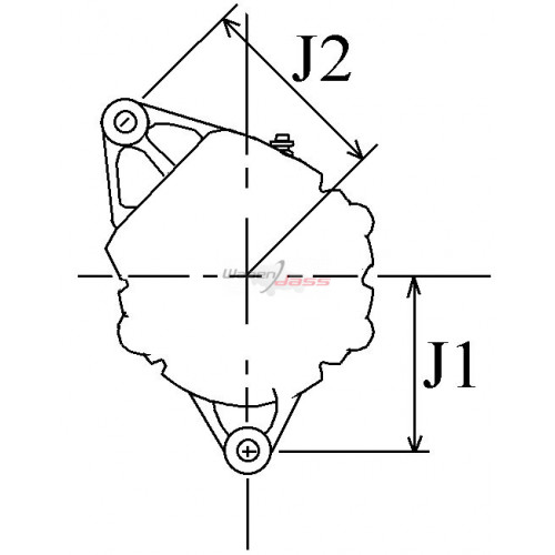 Alternateur NEUF remplace Valeo TG12C069 / TG12C070 / Opel 1202332 / 1204622 / 13500586
