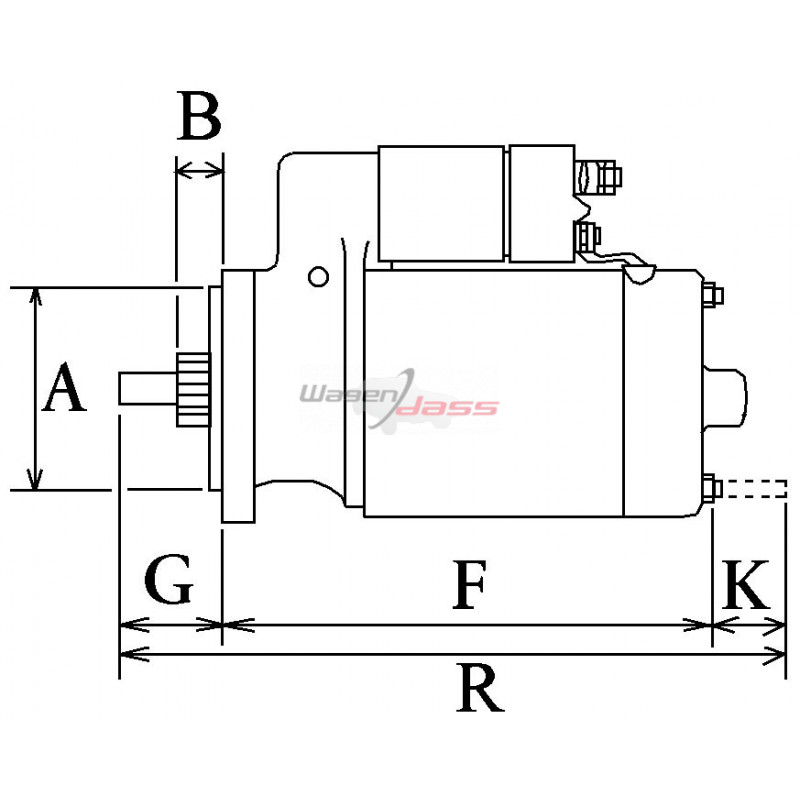 Anlasser ersetzt BOSCH 0001218116 / 0001218117