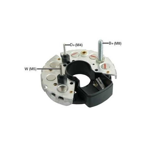 Pont de diode pour alternateur Bosch 0120400728 / 0120488256 / 0120488277