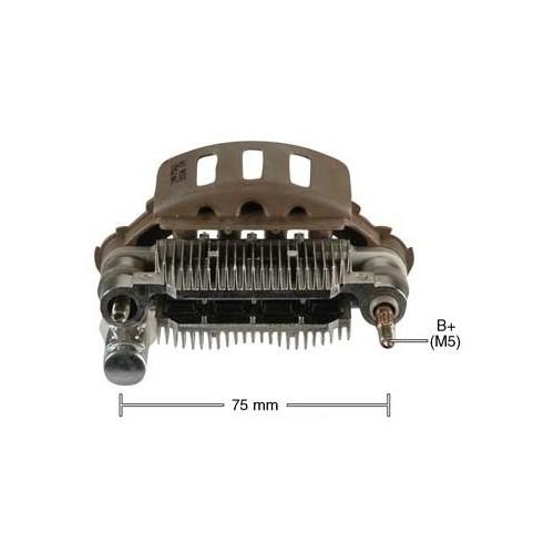 Pont de diode pour alternateur Mitsubishi A2T05772X / A5T00877 / A5T01577