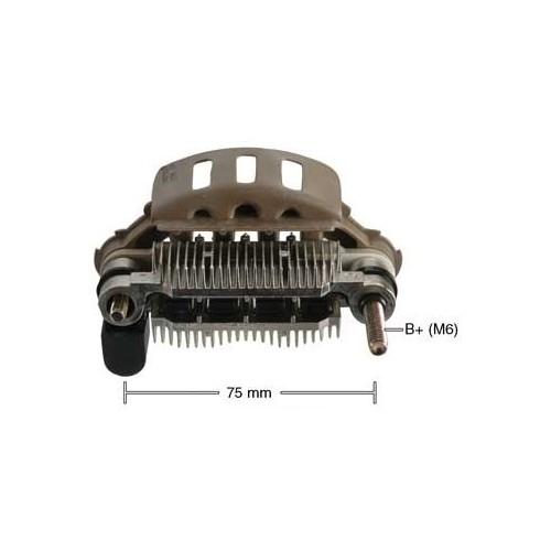 Pont de diode pour alternateur Mitsubishi A5T00192 / A5T00972 / A5T03092