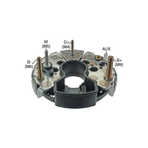 Pont de diode pour alternateur Bosch 0120465009 / 0120465010 / 0120468037