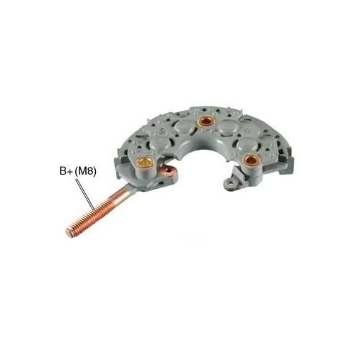 Gleichrichter für lichtmaschine DENSO 100211-1800 / 100211-1830 / 100211-1931