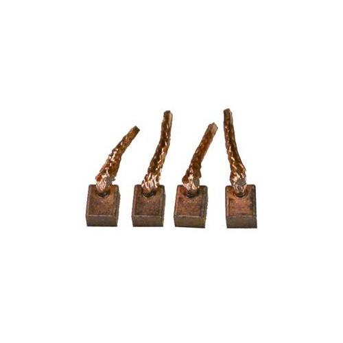 Jeu de balais / charbons pour démarreur Valéo TS12E9 / D6G5 / D6GS11 / D6GS12
