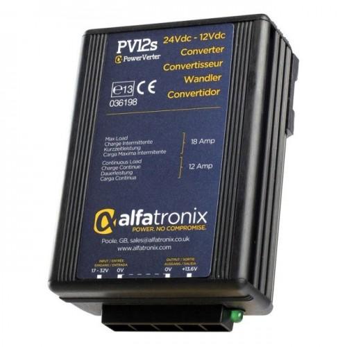 Convertisseur de tension 24V/12V remplace ALFATRONIX PV12S