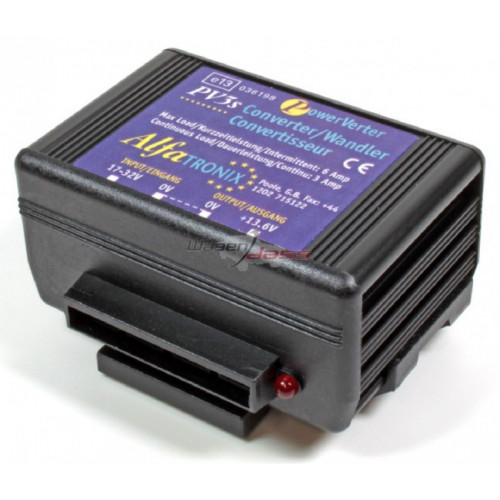 Convertisseur de tension 24V/12V remplace ALFATRONIX PV3S