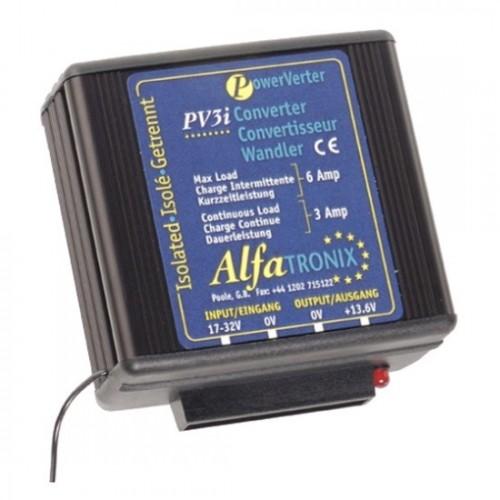 Convertisseur de tension 24V/12V remplace ALFATRONIX PV3I