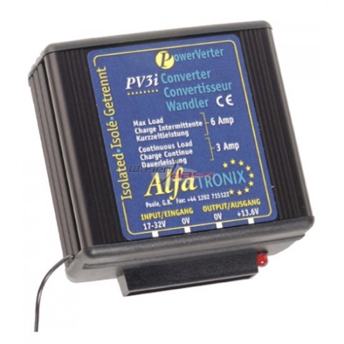 Voltage Converter 24V/12V replacing ALFATRONIX PV3I
