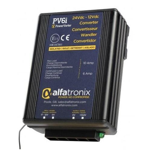 Convertisseur de tension 24V/12V remplace ALFATRONIX PV6I