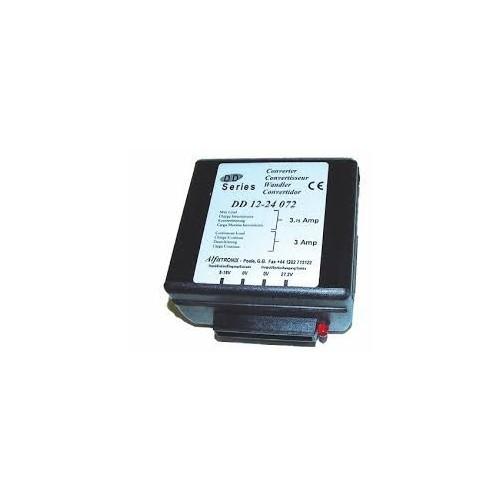 Convertisseur de tension 24V/12V remplace ALFATRONIX DD1224072