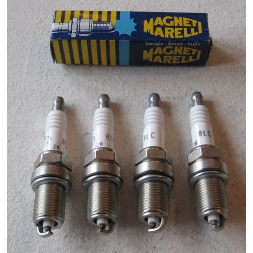 Pack of 10 spark plug Magneti Marelli 8LC
