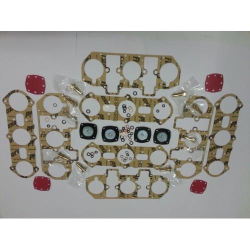Service Kit for carburettor WEBER 4 x 40IF on FERRARI