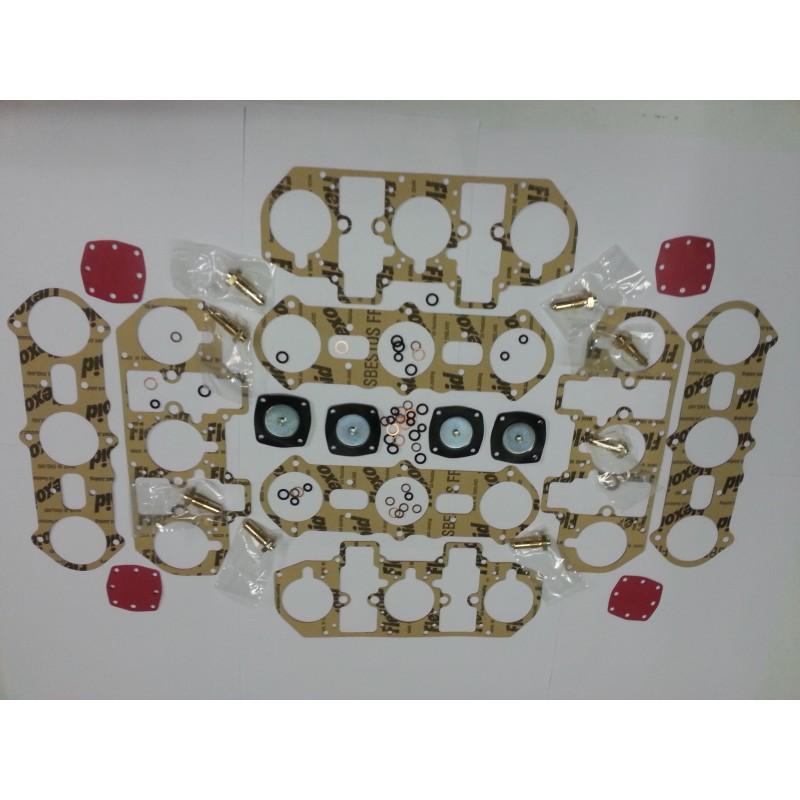 Pochette de joint pour carburateur weber 4 x 40IF sur Ferrari