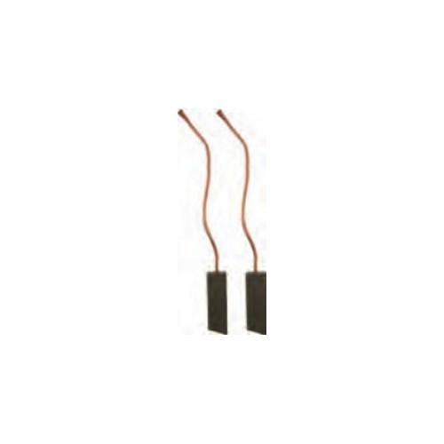 Jeu de balais pour alternateur Hitachi LR1100-501B / LR1100-709 / LR1110-713
