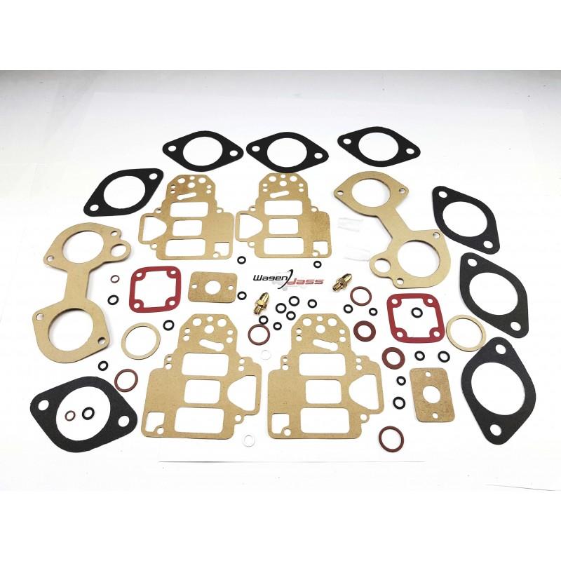 Service Kit for carburettor 2x 45 DCOE on BMW Alpina 1800 TI