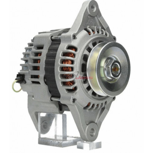 Alternator replacing HITACHI LR160-741 / Yanmar 12827177200