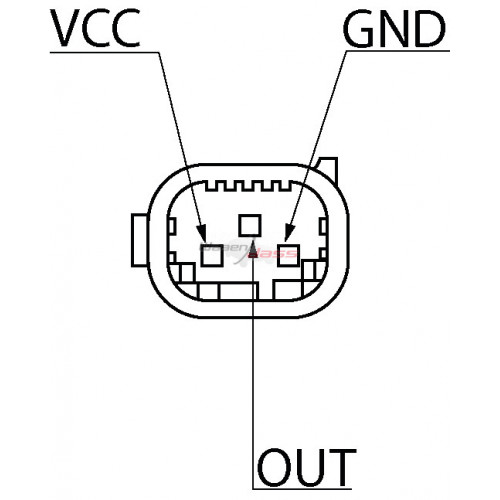 Sensor replacing BOSCH 0261230142 / 0261230191