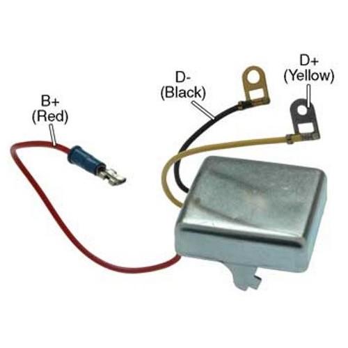Regler für lichtmaschine LUCAS 23680A / 23680D / 23686A / 23686B