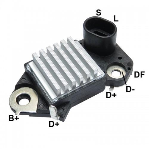 Regler für lichtmaschine DELCO REMY 19020600 / 19020601 / 19020604 / 19020606