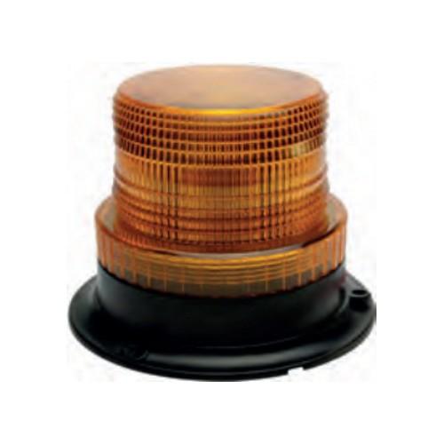 Gyrophare à LED diamètre extérieur 130 mm / couleur orange