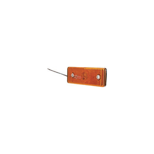 LED Side Marker Lamp 24V - e-approval rectangular