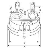 Magnetschalter für anlasser 0001231041