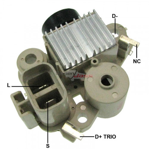 Regulator for alternator VALEO ab180128 / AB190147 / TA000A33001