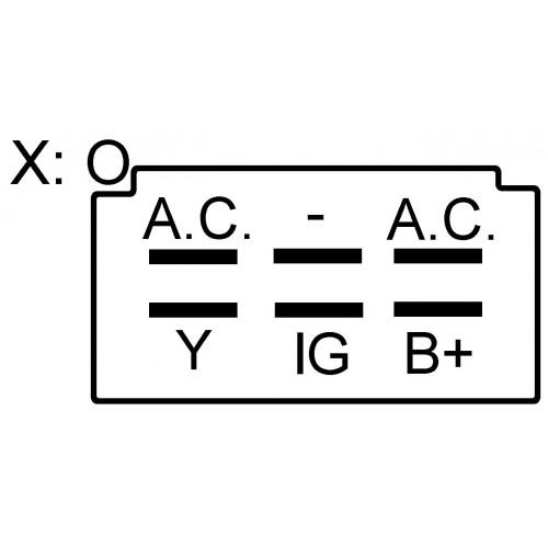 Régulateur remplace Kokusan-Denki rs5121