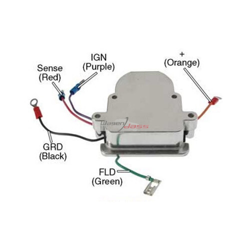 Regler für lichtmaschine MOTOROLA 8MR2023F / 8MR2024F / 8MR2036K