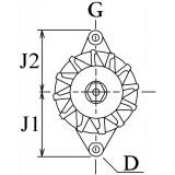 Alternateur équivalent 6033gb5007 / 6033gb5009 / 23100-7c000
