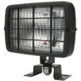 Work Lamp rectangular 152x104 mm H3 with grille
