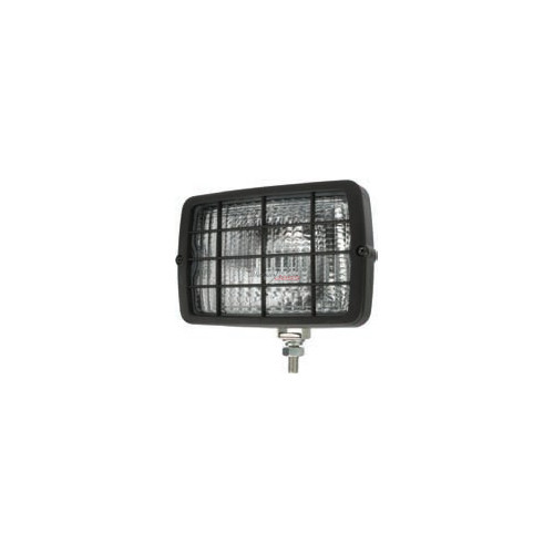 Work Lamp rectangular 152 x 104 mm H3 with grille