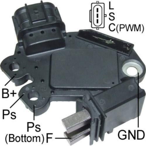 Regulator for alternator VALEO FG12T039 / TG11S092 / TG12C032 / TG12C116
