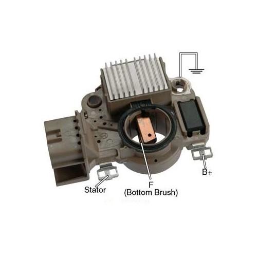 Régulateur pour alternateur Mitsubishi A2TA5192 / A2TA5192A / A2TA5391