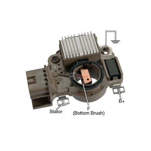 Regulator for alternator MITSUBISHI A2TA5192 / A2TA5192A / A2TA5391