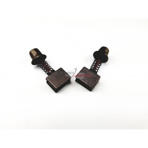 Satz mit 2 Bürsten / Kohle für Ducellier-Anlasser
