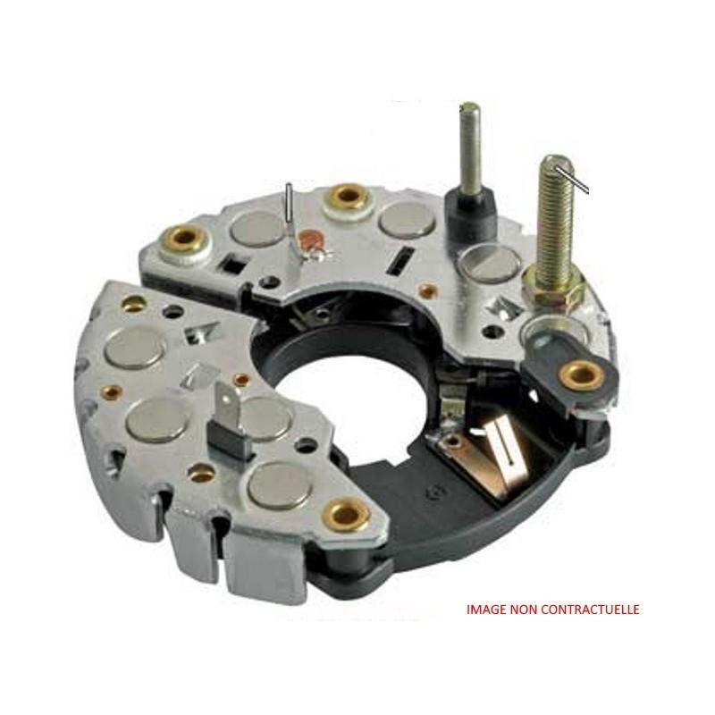 Pont de diodes pour alternateur Bosch 0125811021 / 0125811029 / Fiat 9677608580 / 9678867980