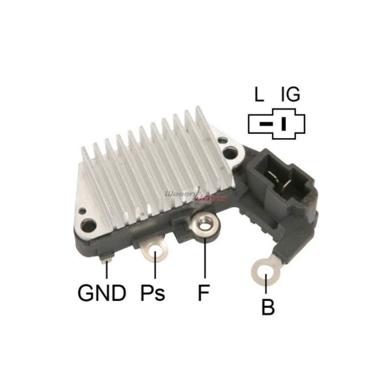 Regulator for alternator DENSO 100211-6640 / 100211-6660 / 100211-6730