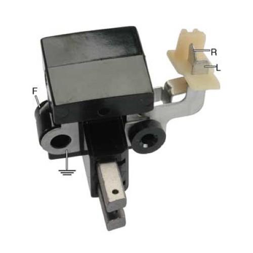 Regulator with brush set for alternator MITSUBISHI A002T24884 / MD050190 / MD050190