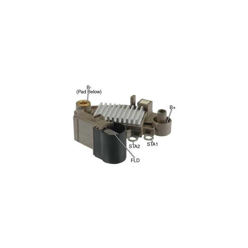 Régulateur pour alternateur valéo A13VI217 / A13VI218 / A14VI17 / 2541841