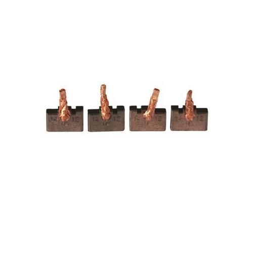 Jeu de balais / charbon pour démarreur Bosch 0001223007 / 0001223009