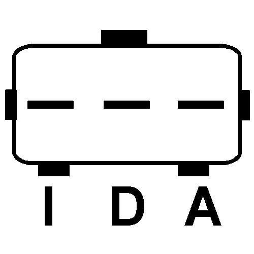 Régulateur pour alternateur Ford 2C3U-10300-CB / 2C3U-10300-CC / 2C3Z-10346-CA