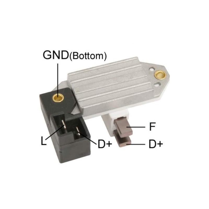 Regler für lichtmaschine LUCAS AA125R-14V-65A / 063320001010 / 063320002010