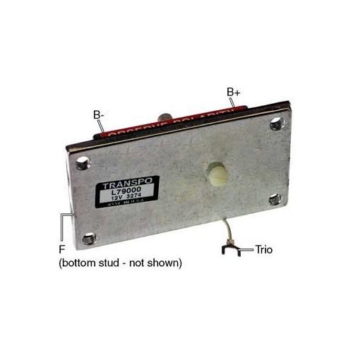 Regulator for alternator LEECE NEVILLE 2300 / 2300J / 2300JB / 2300JC / 2360J / 2360JB / 2360JC
