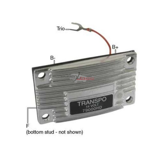 Regler für lichtmaschine LEECE NEVILLE 2513JB / 2526JC / 4834LC / 4834LCRM / 4861JB / 90743 / 90749