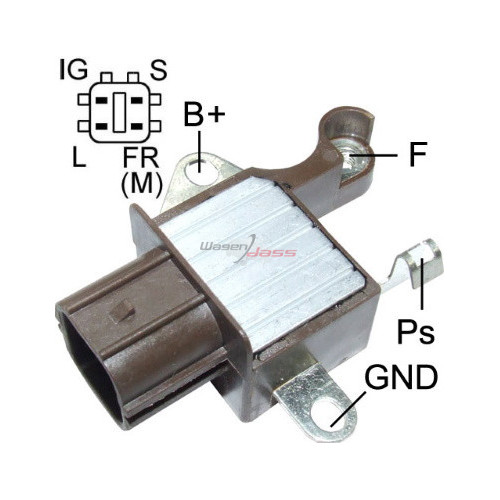 Regler für lichtmaschine DENSO 104210-3050 / 104210-3051 / 104210-3052